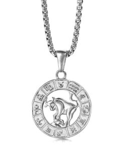 Taurus Silver Necklace