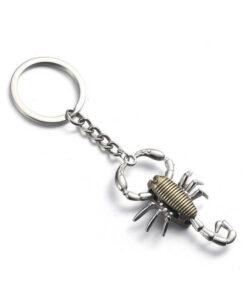 Zinc Scorpion Keychain Scorpions Store