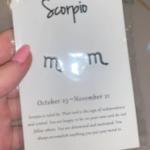 Astro Scorpio Earrings