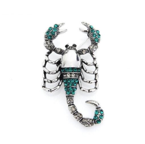 Brooch Scorpion Jewelry