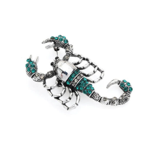 Brooch Scorpion Jewelry woman