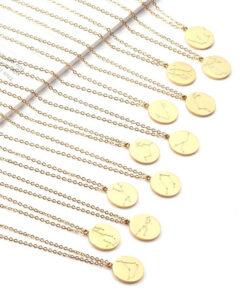 Collection Scorpio Constellation Necklace