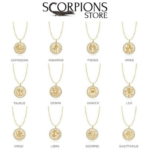 Diamond Scorpio Necklace Collection