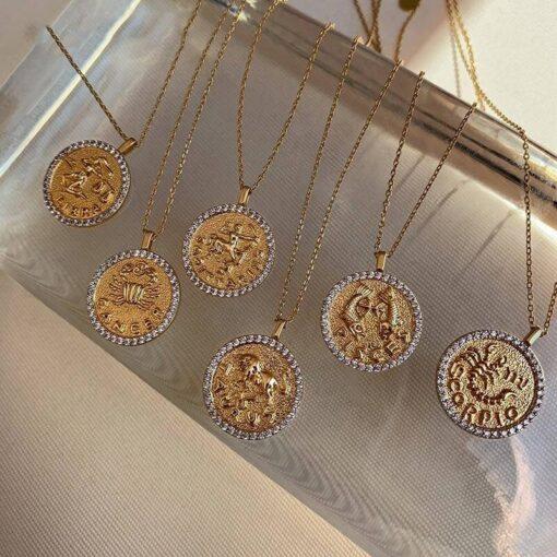 Diamond Scorpio Necklace presentation