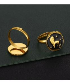 Gold Ring Leo