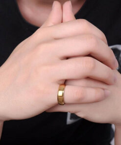 Gold Scorpio Ring Men Fashion