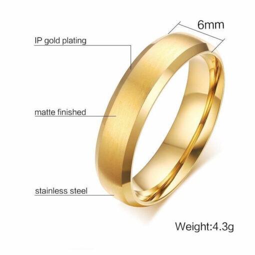 Gold Scorpio Ring size