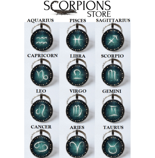 Scorpio Astral Keyring Collection