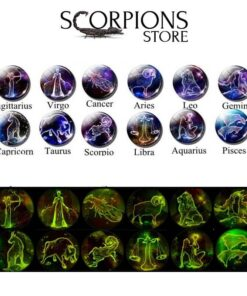 Scorpio Astro Keyring Ball Collection
