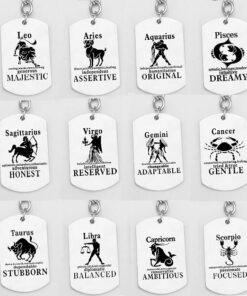 Scorpio Astrology Keychain Collection
