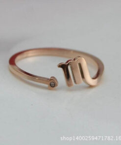 Scorpio Birthstone Ring