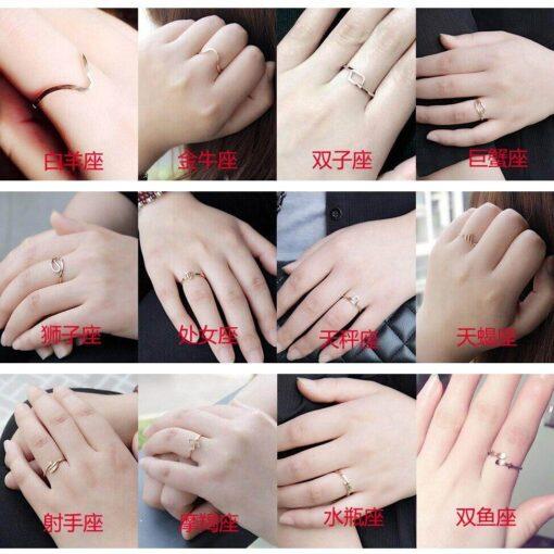 Scorpio Birthstone Ring Avis