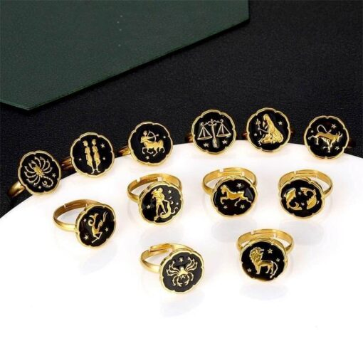 Scorpio Gold Ring Collection