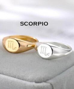 Scorpio Jewelry Rings