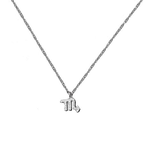 Scorpio Necklace Silver