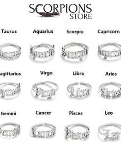 Scorpio Ring Silver Color Collection