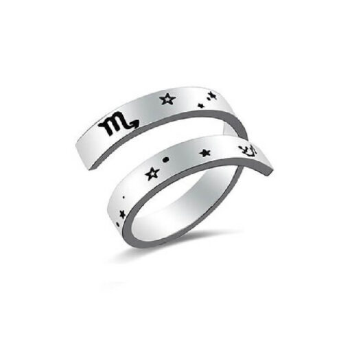 Scorpio Sign Ring