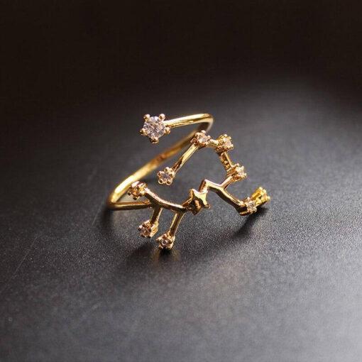 Scorpio Stone Ring Astro