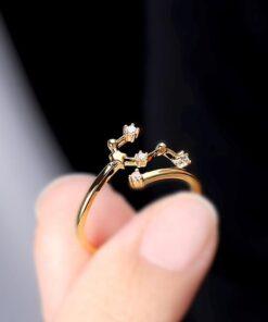 Scorpio Stone Ring Zodiac