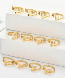 Scorpio Zodiac Ring gold models