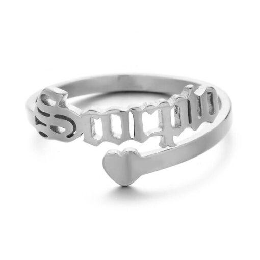 Scorpio Zodiac Ring_