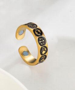 Scorpio Zodiac Sign Ring