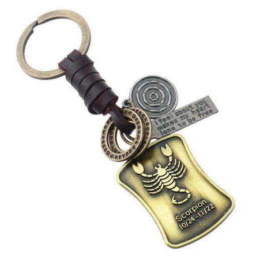Vintage Scorpio Keyring